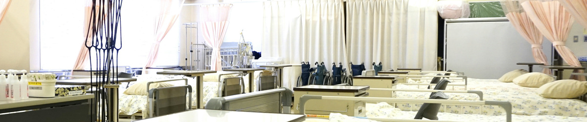 比企准看護学校 実習室